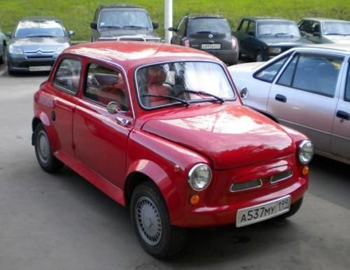 Красный ЗАЗ 965