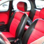 Красный кожаный салон ЗАЗ 965