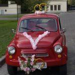 ЗАЗ 965 украшенный для свадьбы