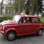 Ретро автомобиль для свадьбы