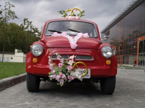 Свадебные украшения ЗАЗ 965