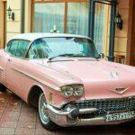 Розовый раритетный Кадиллак Эльдорадо