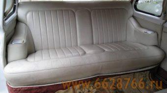 Пассажирские сидения в Чайке