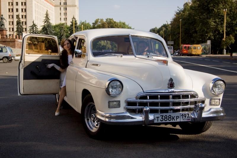 ГАЗ-12 ЗИМ для свадьбы