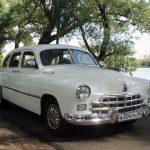 ГАЗ-12 ЗИМ белого цвета